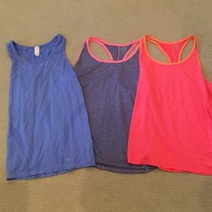 3 dri-fit racer back tops-GAP and champion